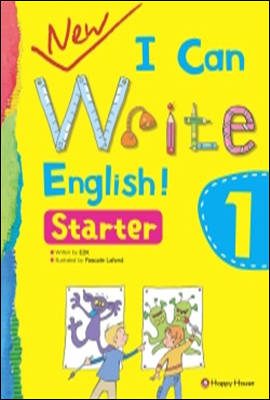 New I Can Write English! Stater 1