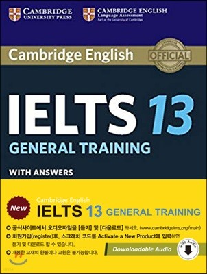 Cambridge IELTS 13 : General Training Student's Book with Answers
