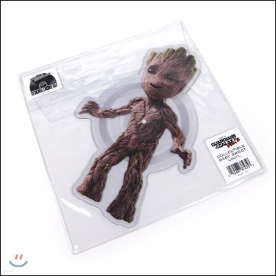 가디언즈 오브 갤럭시 2 영화음악 - 베이비 그루트 (Guardians Of The Galaxy Vol. 2 OST - Collectable Baby Groot Vinyl) [픽쳐디스크 EP LP]