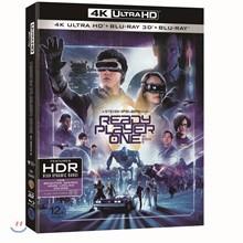 레디 플레이어 원 (3Disc 4K UHD + 3D + 2D 초도한정 오링) : 블루레이