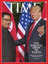 Time (주간) - Asia Ed. 2018년 6월 25일 : 타임 아시아판 : 김정은 - 트럼프 북미정상회담 커버