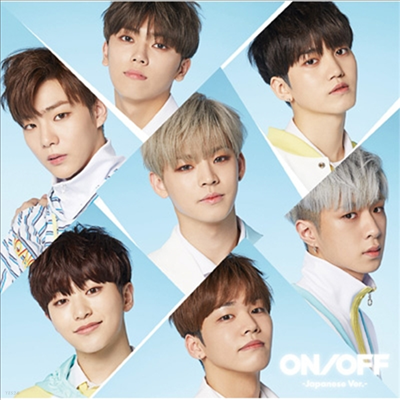 온앤오프 (ONF) - On/Off -Japanese Ver.- (CD+DVD) (초회한정반 B)