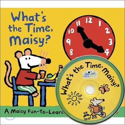 What's the Time, Maisy? (Book & CD)