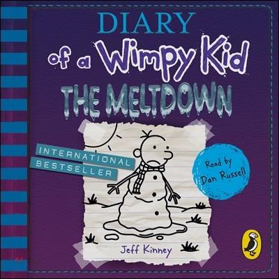 Diary of a Wimpy Kid #13 : The Meltdown Audio CD (영국판 / 오디오북)