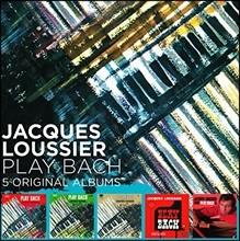 Jacques Loussier (자끄 루시에) - 5 Original Albums: Play Bach
