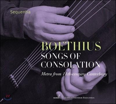 Sequentia 보에티우스: 위안의 노래 - 11세기 켄터버리 음악 (Boethius: Songs Of Consolation)