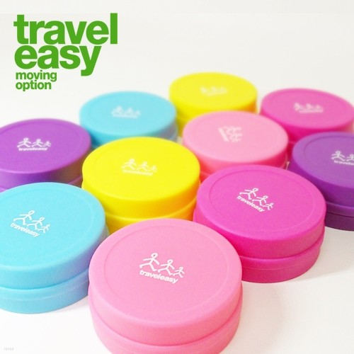 여행용 에코 폴딩컵 4EA 1SET/ 여행,해외행/등산,캠핑/위생용품