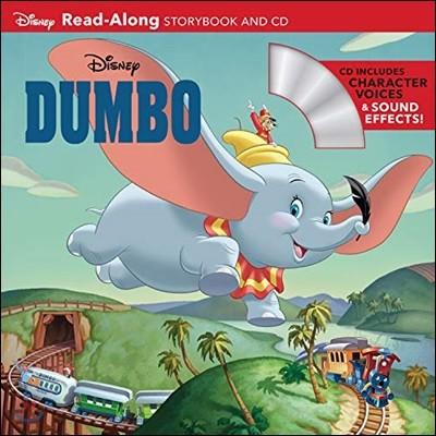 Dumbo Read-Along Storybook and CD : 디즈니 덤보 리드얼롱 Book & CD 세트