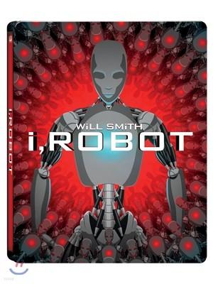 아이, 로봇 (1Disc 스틸북 한정판) : 블루레이