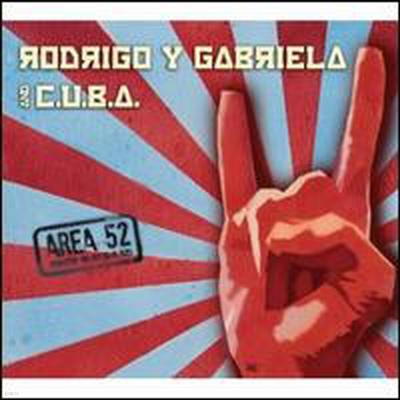 Rodrigo Y Gabriela & C.U.B.A. - Area 52 (CD+DVD)(Digipack)