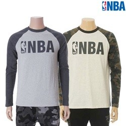 [NBA]NBA BASIC LOGO 라글란 티셔츠(N154TS957P)