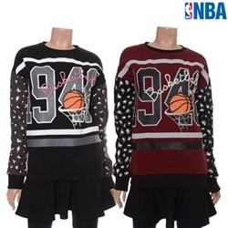 [NBA]NBA 호피소매 스커트레이어드 원피스(N154TO713P)