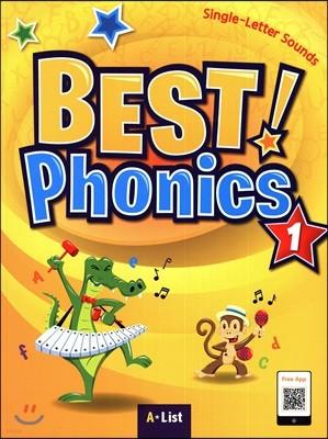 Best Phonics 1: Single-Letter Sounds (Student Book)
