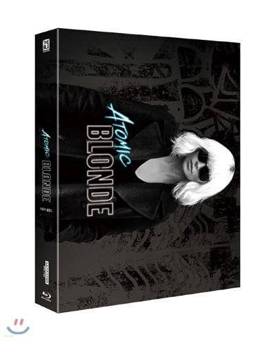 아토믹 블론드 (2Disc 4KUHD + BD 풀슬립 스틸북 한정판) : 블루레이
