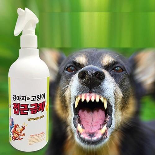 사람에게 무해한  강아지, 고양이 접근금지(1000ml)