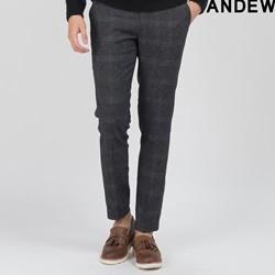[ANDEW]남성 글렌체크 팝콘사 바지(O154PT210P)