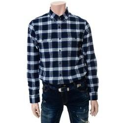 [ANDEW]남성 기모 체크 셔츠(O154SH130P)
