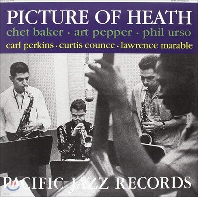 Chet Baker / Art Pepper / Phil Urso (쳇 베이커, 아트 페퍼, 필 어소) - Picture Of Heath [LP]