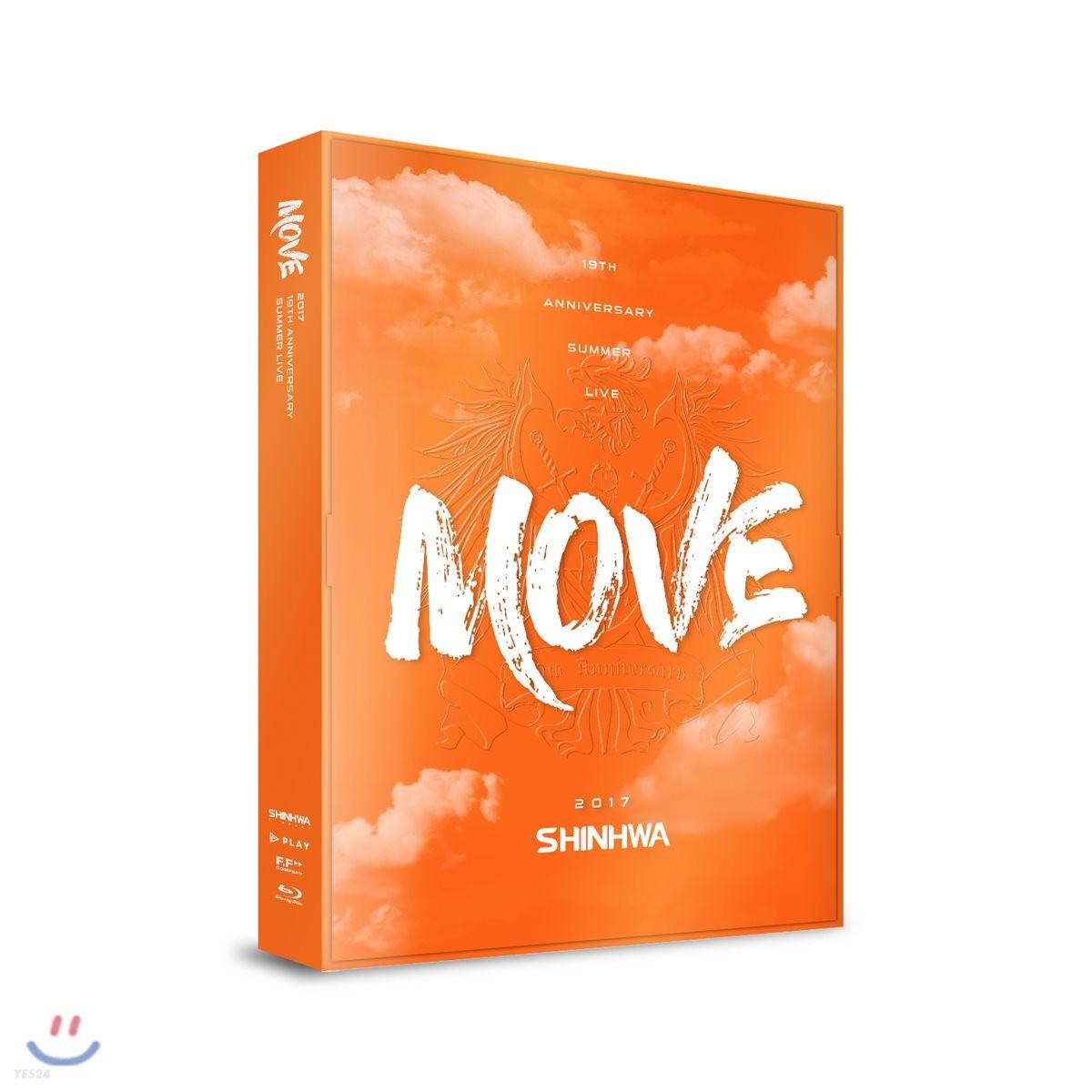 """신화 (Shinhwa) - SHINHWA 19th Anniversary Summer Live """"Move"""" Blu-ray"""