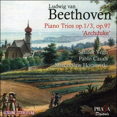 Sandor Vegh 베토벤: 피아노 삼중주 Op. 1 &  Op. 97 '대공' (Beethoven: Piano Trios Op. 1/3 , Op. 97 'Archduke')
