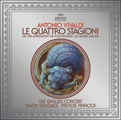 Simon Standage / Trevor Pinnock 비발디: 사계 (Vivaldi: The Four Seasons)[LP+CD]