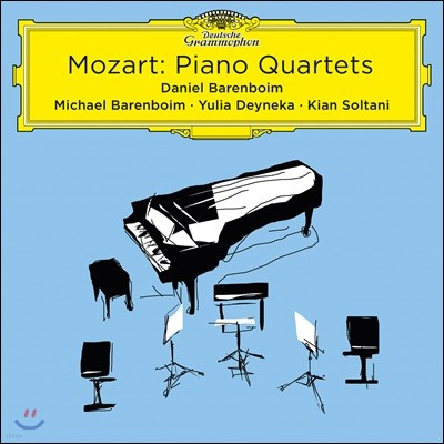 Daniel Barenboim 모차르트: 피아노 사중주 1, 2번 전곡 (Mozart: Piano Quartets K478, K493)