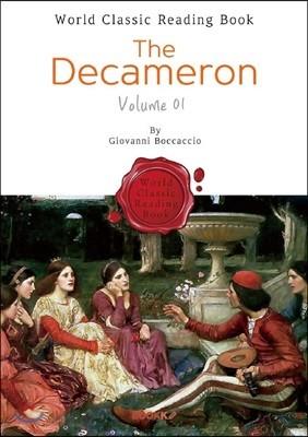 데카메론 (상권) - The Decameron, Volume 01 (영문판)