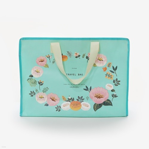 4000 꽃길 타포린 쇼핑백 중 (랜덤발송)