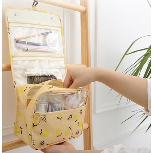 [무배] 레몬 여행용 세면파우치/세면수납가방