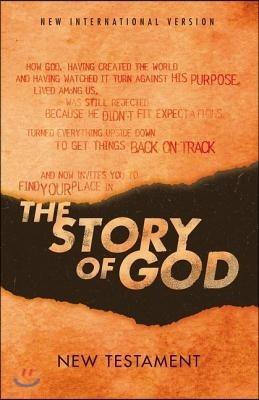Niv, the Story of God, New Testament, Paperback