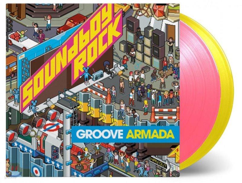 Groove Armada (그루브 아마다) - Soundboy Rock [핑크 & 옐로우 컬러 2LP]