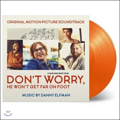 걱정마요, 걸어서는 멀리 못 갈 거예요 영화음악 (Don't Worry, He Won't Get Far on Foot OST by Danny Elfman) [오렌지 컬러 LP]