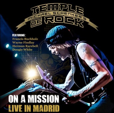 Michael Schenker Temple Of Rock - On A Mission - Live In Madrid [2CD+블루레이 디럭스 에디션]