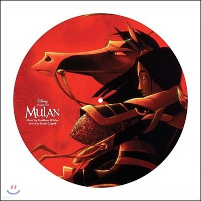 뮬란 영화음악 (Songs From Mulan OST) [픽쳐디스크 LP]