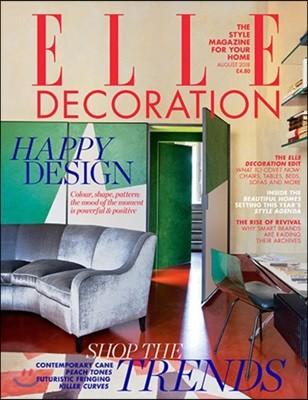 Elle Decoration UK (월간) : 2018년 08월