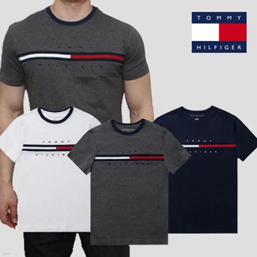 타미힐피거 시그니처 반팔 티셔츠
