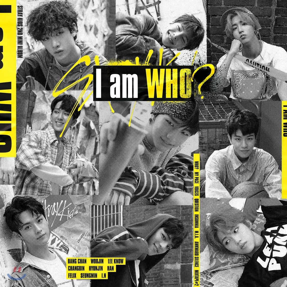 스트레이 키즈 (Stray Kids) - 미니앨범 2집 : I am WHO