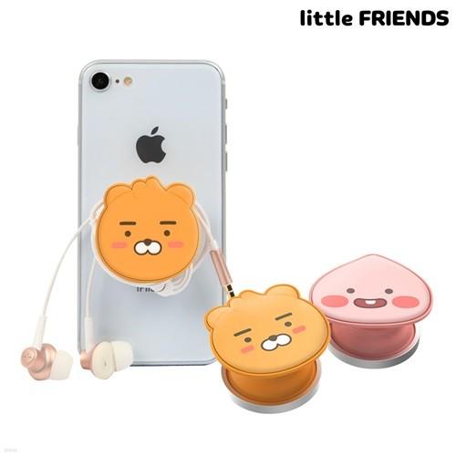 리틀프렌즈 얼굴형 스마트 그립톡 슬림 휴대폰 ...
