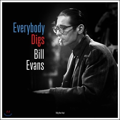 Bill Evans (빌 에반스) - Everybody Digs [블루 컬러 LP]