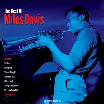 Miles Davis (마일스 데이비스) - The Best of Miles Davis  [레드 컬러 3LP]