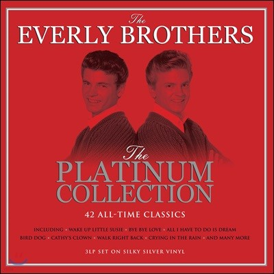 The Everly Brothers (에벌리 브라더스) - The Platinum Collection [3LP]
