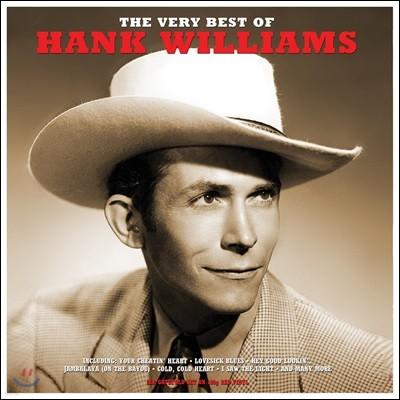 Hank Williams (행크 윌리엄스) - The Very Best Of Hank Williams [레드 컬러 2 LP]