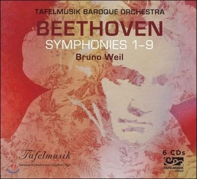 Bruno Weil 베토벤: 교향곡 전곡집 (Beethoven: Symphonies 1-9)
