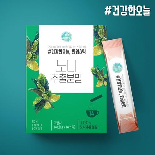 FND건강한오늘 한입스틱 노니 분말스틱 1박스(14포)