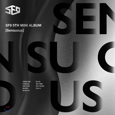 에스에프나인 (SF9) - 미니앨범 5집 : Sensuous [Hidden Emotion ver.]
