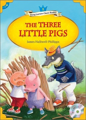 Young Learners Classic Readers Level 1-9 The Three Little Pigs (Book & CD)