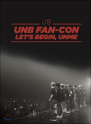 유앤비 (UNB) - 2018 UNB Fan-Con [LET'S BEGIN, UNME] DVD