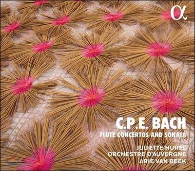 Juliette Hurel / Arie van Beek 카를 필리프 에마누엘 바흐: 플루트 협주곡, 소나타 (CPE Bach: Flute Concertos and Sonata)