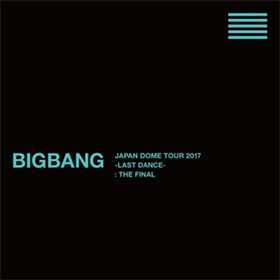 빅뱅 (Bigbang) - Japan Dome Tour 2017 -Last Dance- : The Final (7Blu-ray+2CD+Photobook) (초회생산한정반)(Blu-ray)(2018)