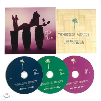 Technicolor Paradise : Rhum Rhapsodies & Other Exotic Delights 누메보그룹 여름 컴필레이션 앨범 [3 CD Boxset]